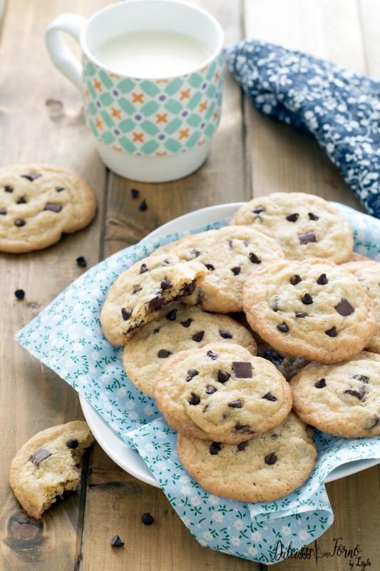 Biscotti cookies americani ricetta originale americana