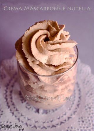 Ricetta crema mascarpone e nutella per farcire torte e dolci