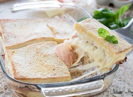 Torta di pancarrè, ricetta facilissima al forno