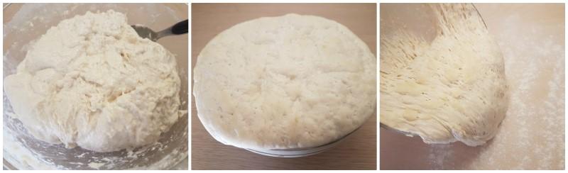 Pizza in teglia: lievitazione