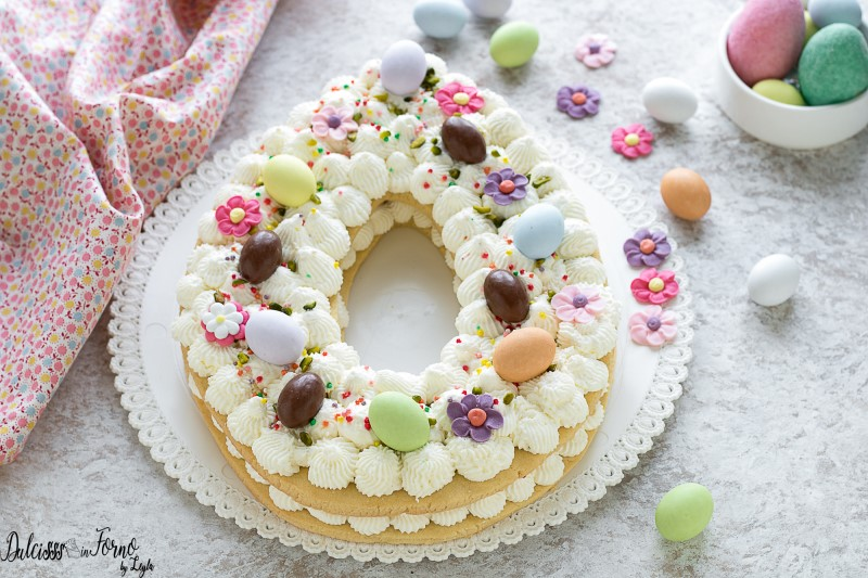 Cream Tart di Pasqua, ricetta tiorta di Pasqua dolce
