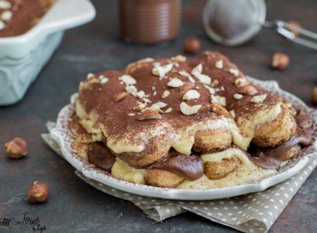 Tiramisu alla Nutella: la ricetta del Nutellamisu