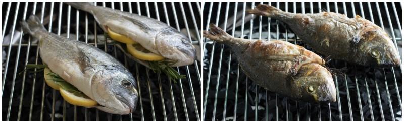 Pesce alla brace: la cottura