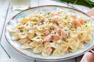 Pasta salmone e philadelphia - Pasta fredda salmone e philaldephia