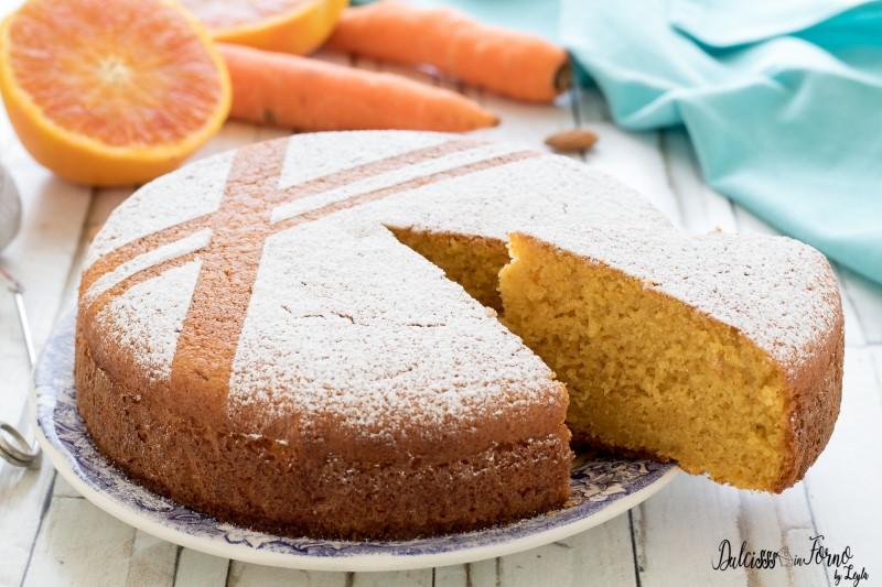 Torta carote e mandorle - Ricetta Torta Camilla