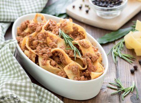Ragu di capriolo, ricette per polenta e pappardelle