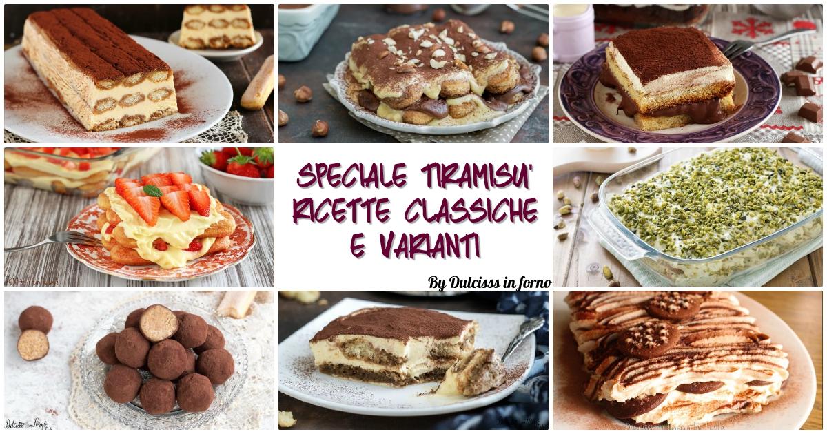 Dolce Tiramisu ricette e varianti