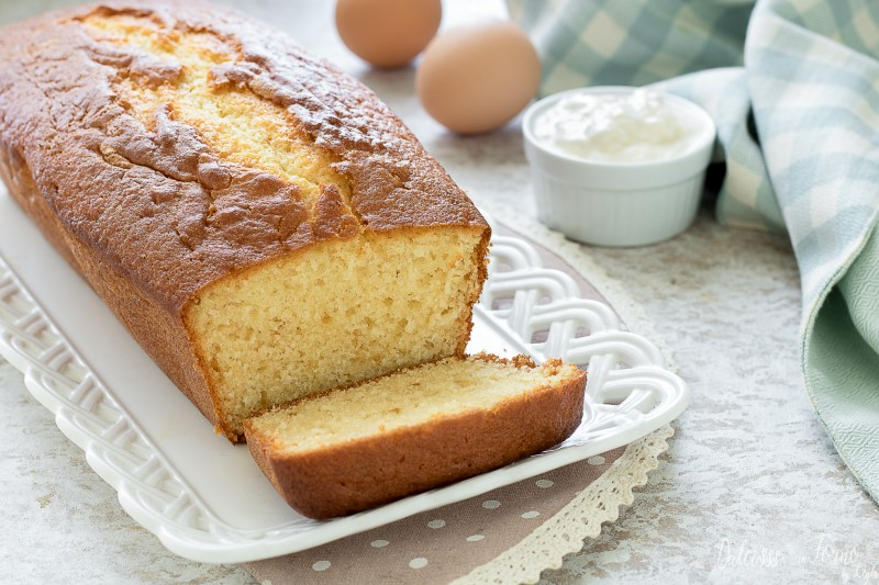 Plumcake allo yogurt: ricetta plumcake Mulino Bianco soffice e morbido