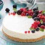 Torta fredda allo yogurt,, ricetta cheesecake allo yogurt