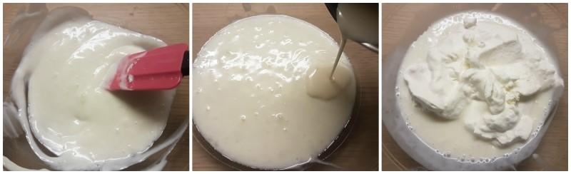 Torta Cheesecake allo yogurt: la farcitura