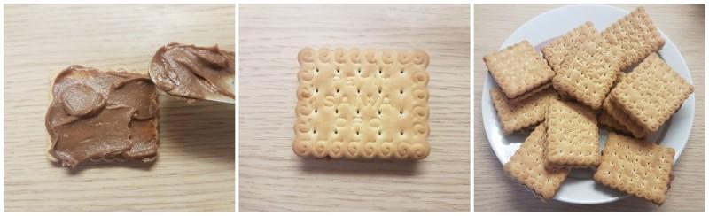 La farcitura dei biscotti Oro Saiwa