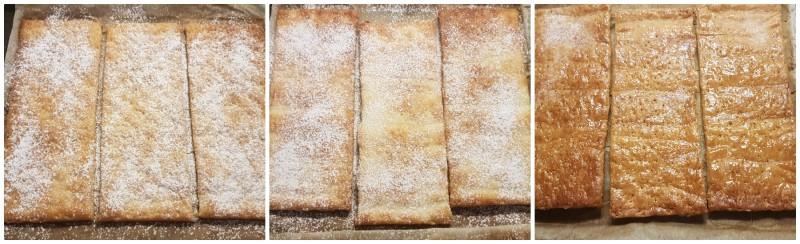 Cottura della pasta sfoglia per la torta millefoglie