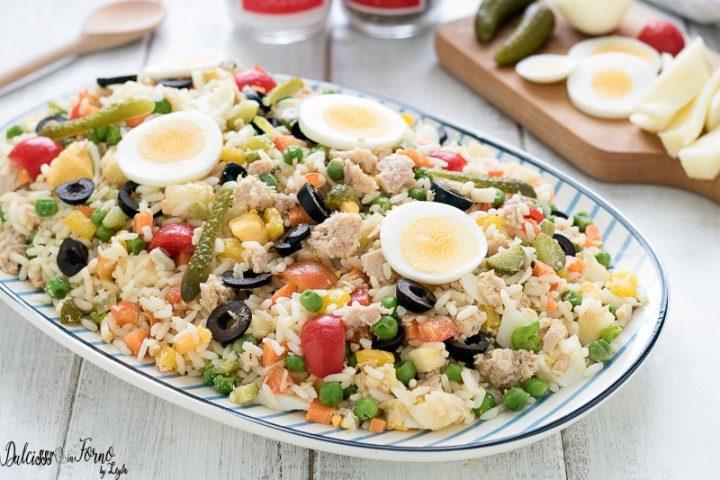 Insalata di riso, ricetta riso all insalata o riso in insalata - Insalata di riso classica