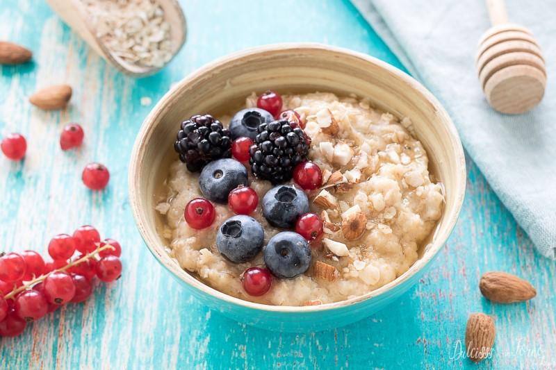 Porridge di avena - ricetta