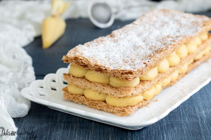 Torta millefoglie ricetta dolce millefoglie alla crema