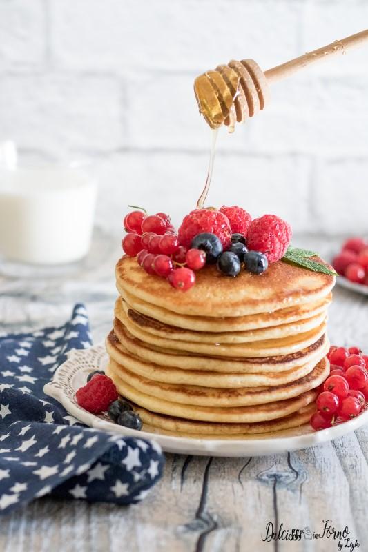 Ricetta pancake - Ricetta originale