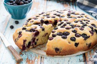 Torta ai mirtilli, ricetta torta con mirtilli freschi