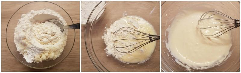 Impasto pancake salati