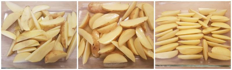 Gli aromi delle Patate al forno con la buccia