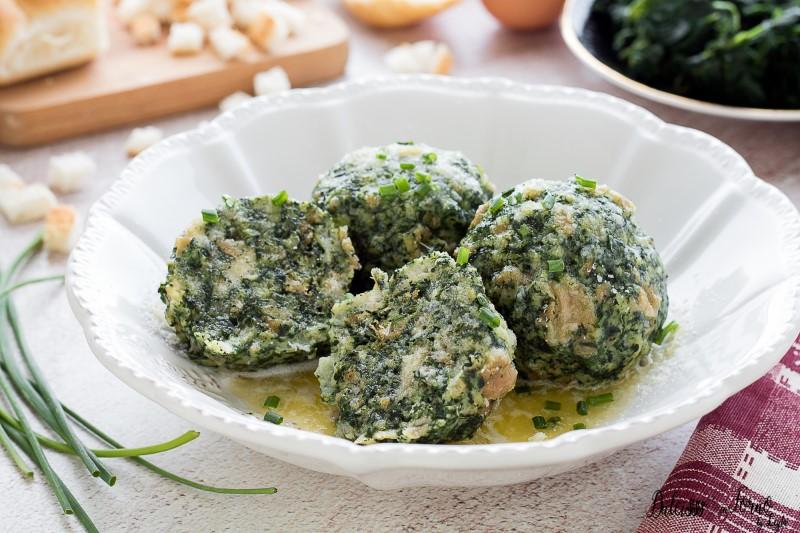 Ricetta Canederli agli spinaci