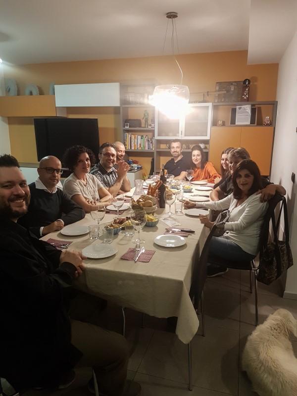 Cena tra amici: la tavolata con menu tirolese