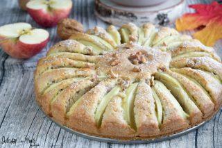 Torta di mele e noci ricetta torta mele e noci