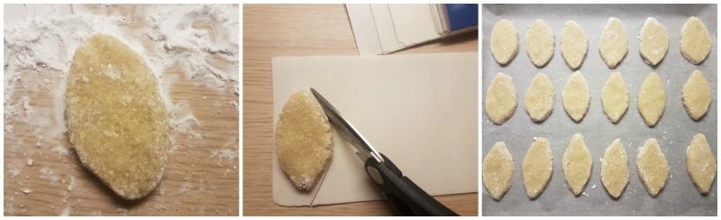 Formatura dei Ricciarelli - tipici dolci di Siena