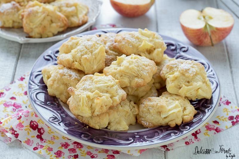 Biscotti alle mele ricetta biscotti morbidi