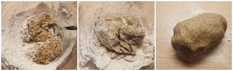 Pasta frolla per biscotti con farina di grano saraceno