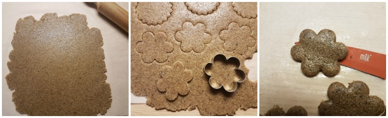 Le forme dei biscotti - Biscotti grano saraceno