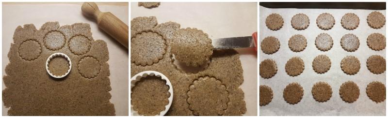 Biscotti tondi al grano saraceno