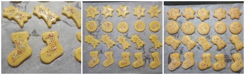 Cottura dei Biscotti della Befana - Befanini