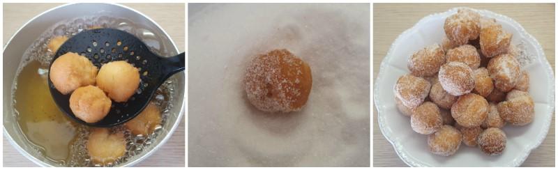 Decorazione con lo zucchero - Castagnole