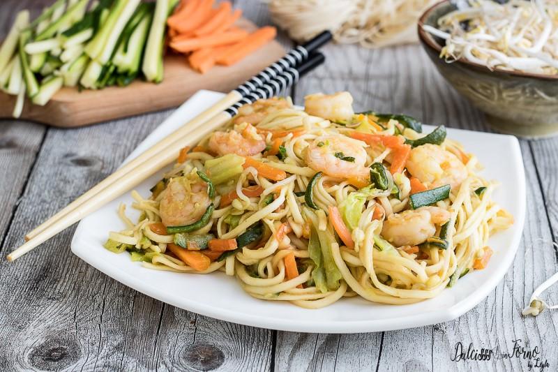 Noodles con verdure ricetta Noodle con verdure