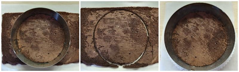 Disco della base pronto - Torta ai 3 cioccolati
