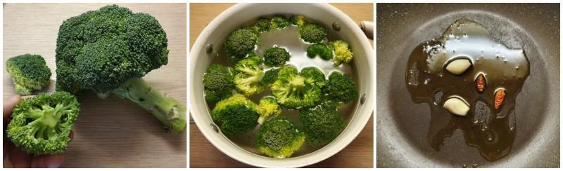 Pulizia e cottura dei broccoli - Pasta con broccoli e salsiccia