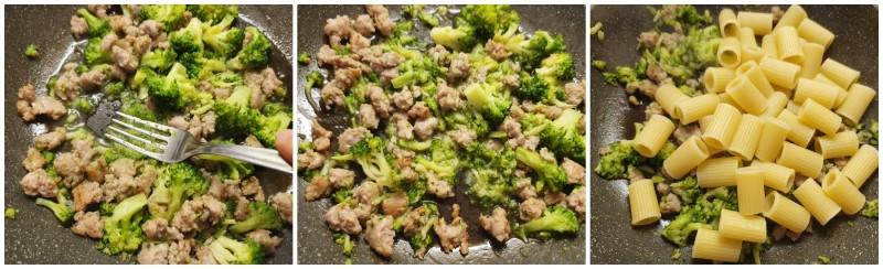 Pasta broccoli e salsiccia pronta