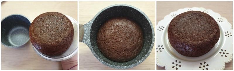 Cottura del pancake proteico