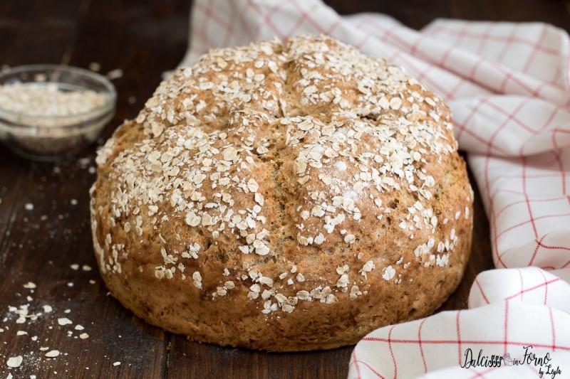Pane senza lievito ricetta Soda Bread pane con bicarbonato