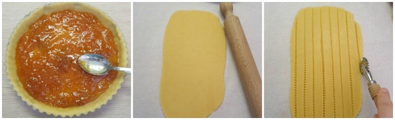 Le strisce - Crostata senza burro ricetta