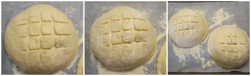 Pane di Altamura prima della cottura
