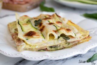 Ricetta Lasagne con zucchine - la fetta Lasagne di zucchine