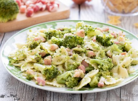 Pasta broccoli e pancetta