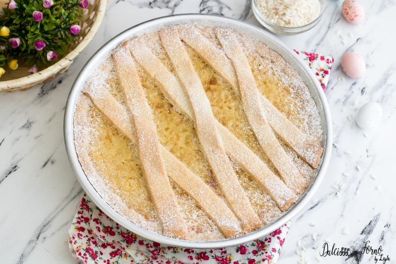 Pastiera di riso napoletana ricetta torta di riso dolce