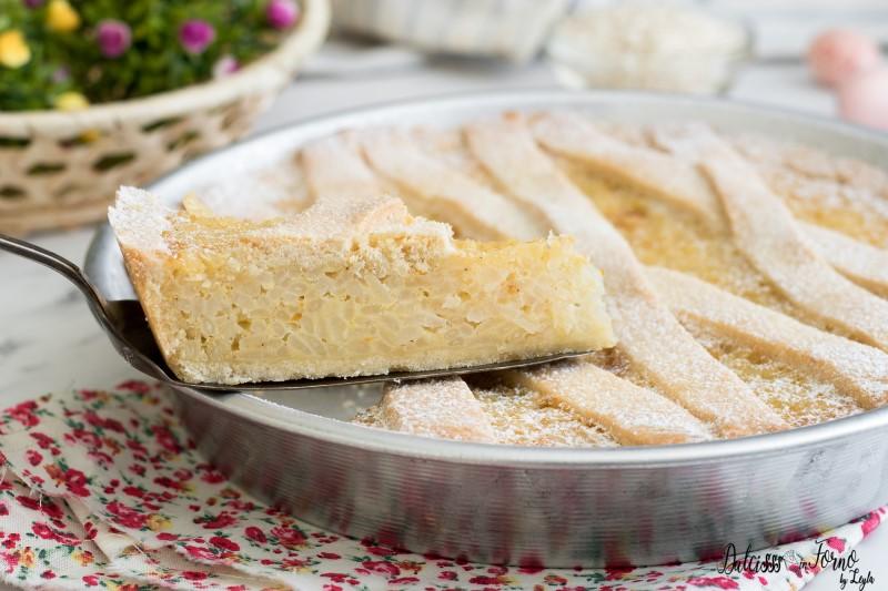 Pastiera di riso ricetta