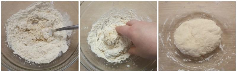 Lievitino pronto per l'impasto del Pan brioche salato