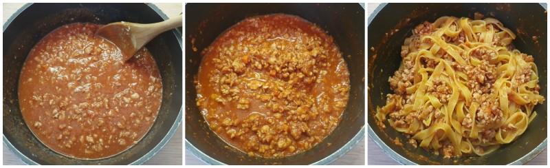 Ragù di pollo per lasagne e pasta pronto