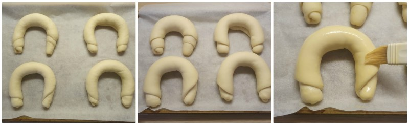 Lievitazione dei cornetti al burro - ricetta cornetti colazione