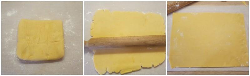 Stesura della pasta frolla