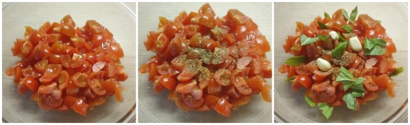 Salsa per bruschette al pomodoro - Ricetta bruschette
